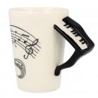 Hudobný hrnček - Klavír