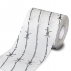Barbed wire toilet paper - without box