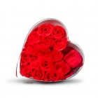 Rose soap & petals