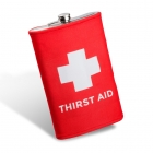 Giant hip flask - Thirst Aid