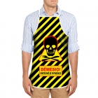 Apron - Warning Man Cooking (LT)