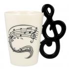 Music Mug - Treble clef