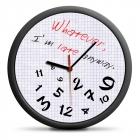 Whatever clock (EN) - silent mechanism