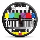 TV clock - silent mechanism