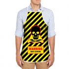 Apron - Warning Man Cooking (EN)