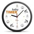 Baby Timer Hodiny - tichý mechanizmus