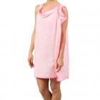 Towel-bathrobe - Pink
