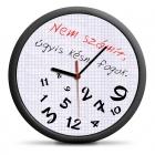 A mindig késők órája (HU) - csendes óraszerkezet