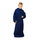 Blanket Dressing Gown Junior - Navy