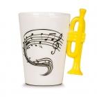 Music Mug - Trumpet