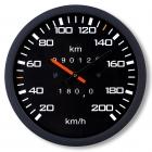 Speedometer Clock - silent mechanism