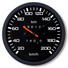 Zegar Prędkościomierz - cichy mechanizm