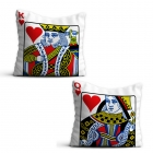 Card Pillowcases - Queen and King Classic