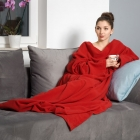 Blanket dressing gown - Red