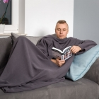 Blanket dressing gown - Graphite