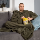 Blanket dressing gown - Olive