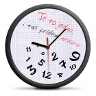 Zegar dla spóźnialskich (SK) - cichy mechanizm