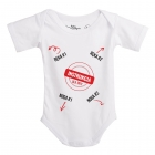Baby Instructions - Body z instrukcją dla Taty - Rozmiar 68