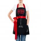 Schürze für eine kochende Frau (DE)